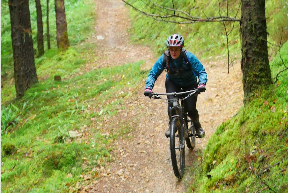 Coed Y Brenin women's mountain bike weekend - Tess Agnew fitness blogger