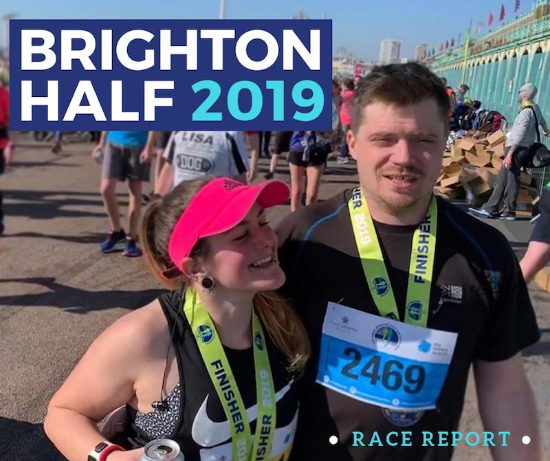 Brighton Half Marathon race recap Tess Agnew fitness blogger