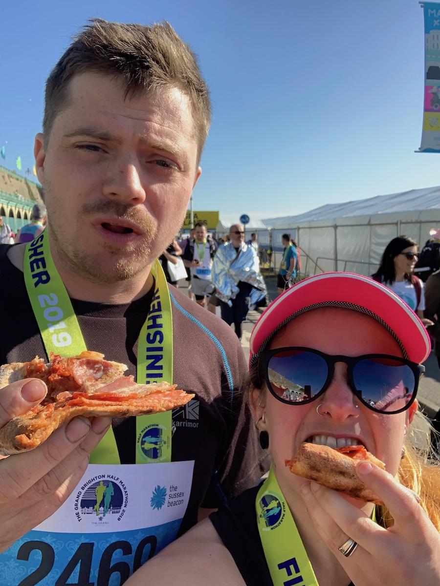 Brighton Half Marathon 2019- Tess Agnew fitness blogger