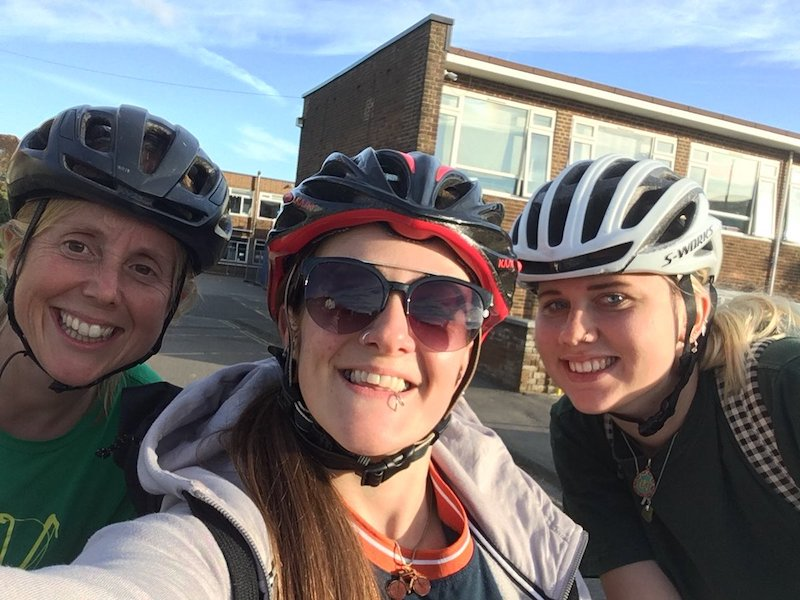 FitBits | Sustrans after school bike club in Hove - Tess Agnew fitness blogger