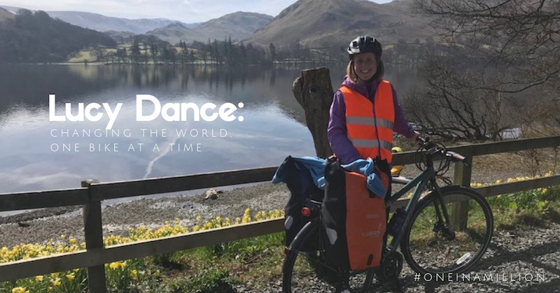 FitBits | Lucy Dance #oneinamillion - women's cycling Tess Agnew fitness blogger
