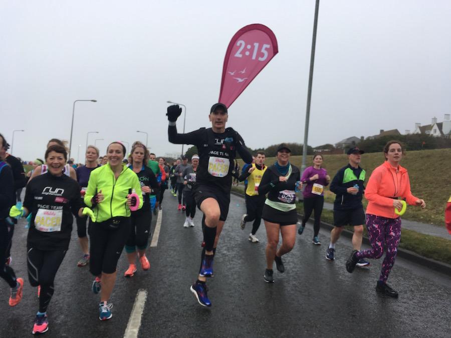 Brighton Half Marathon pacer 2017 Tess Agnew fitness blogger