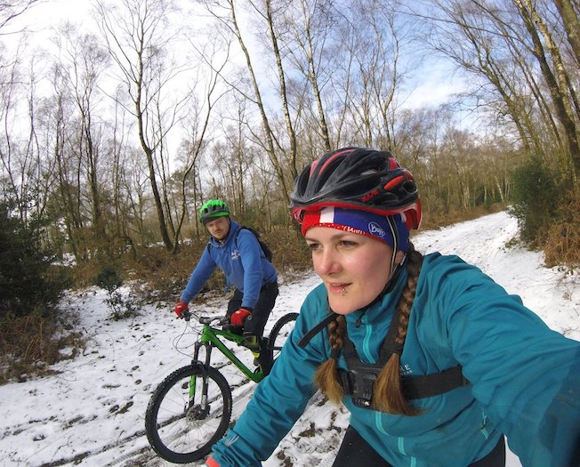 mountain biking in the Surrey Hills Tess Agnew fitness blogger