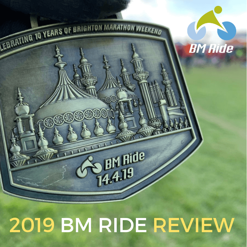 BM Ride Brighton Marathon Weekend review 2019 - Tess Agnew fitness blogger