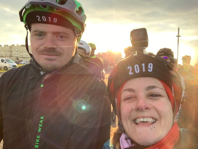 BM Ride Brighton Marathon Weekend review - Tess Agnew fitness blogger