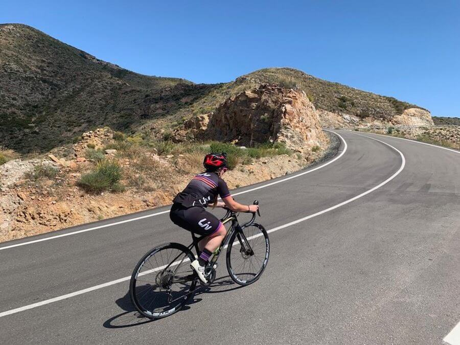FitBits_Road-cycling-in-andalucia-Brezo-Cycling - Tess Agnew fitness blogger