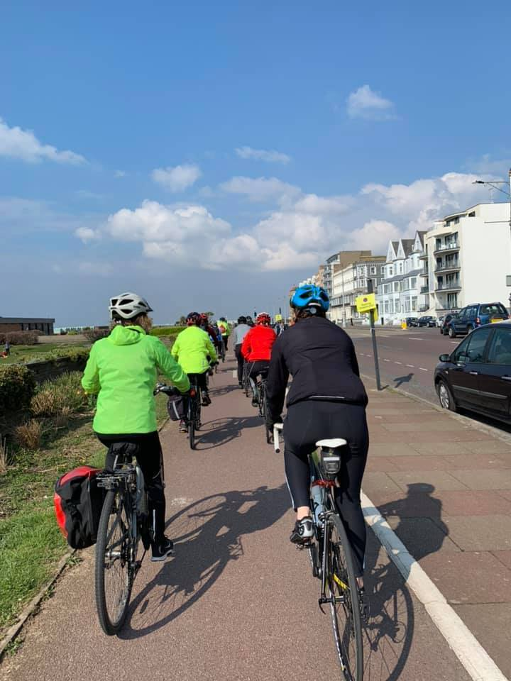 FitBits - Brighton & Sussex British Cycling Breeze Champions - beginner cycle rides for women - Tess Agnew fitness blogger