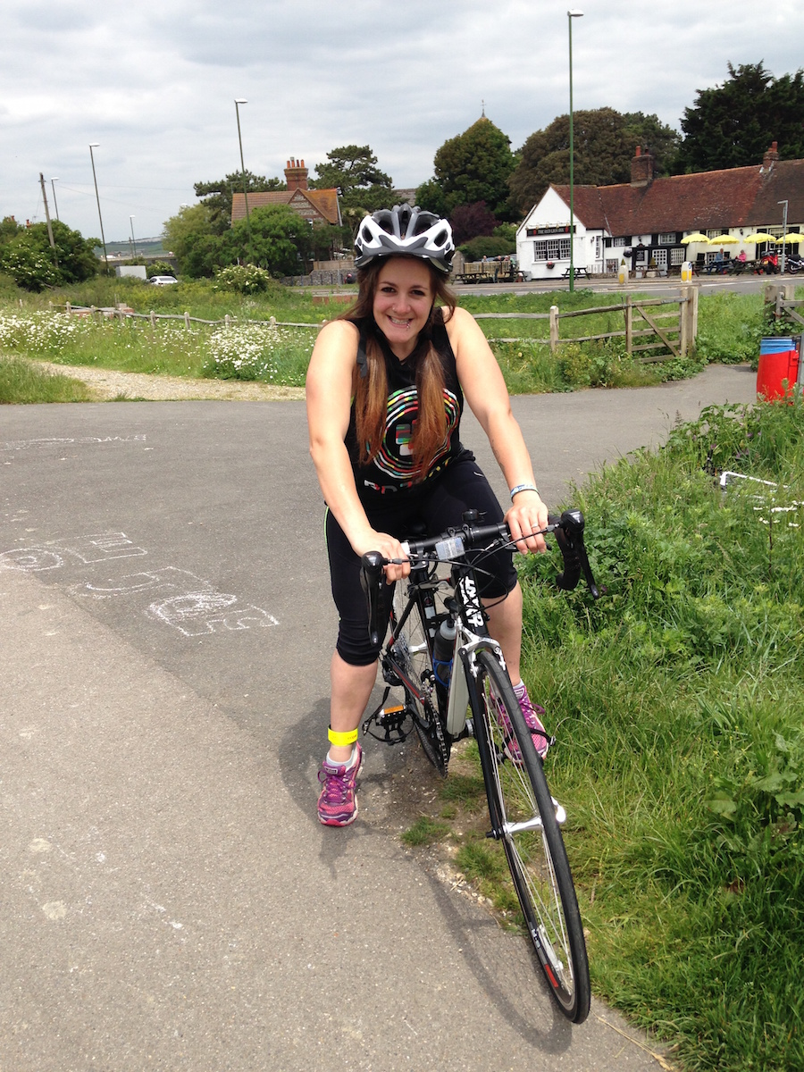 FitBits _ I love my bike - Tess Agnew fitness blogger