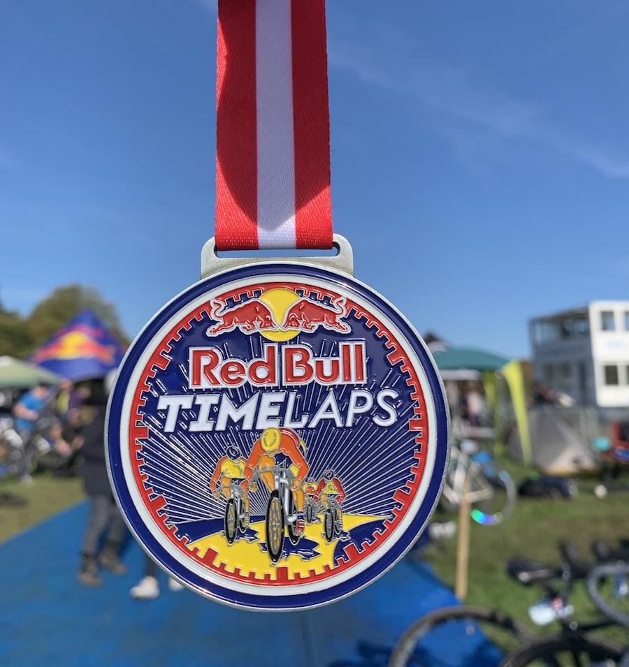 Redbull Timelaps 2019 medal