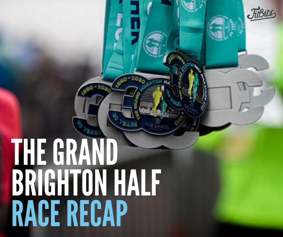 The Grand Brighton Half Marathon 2020 race review Tess Agnew fitness blogger