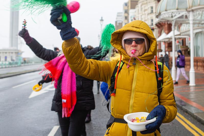 Brighton Half Marathon supporter
