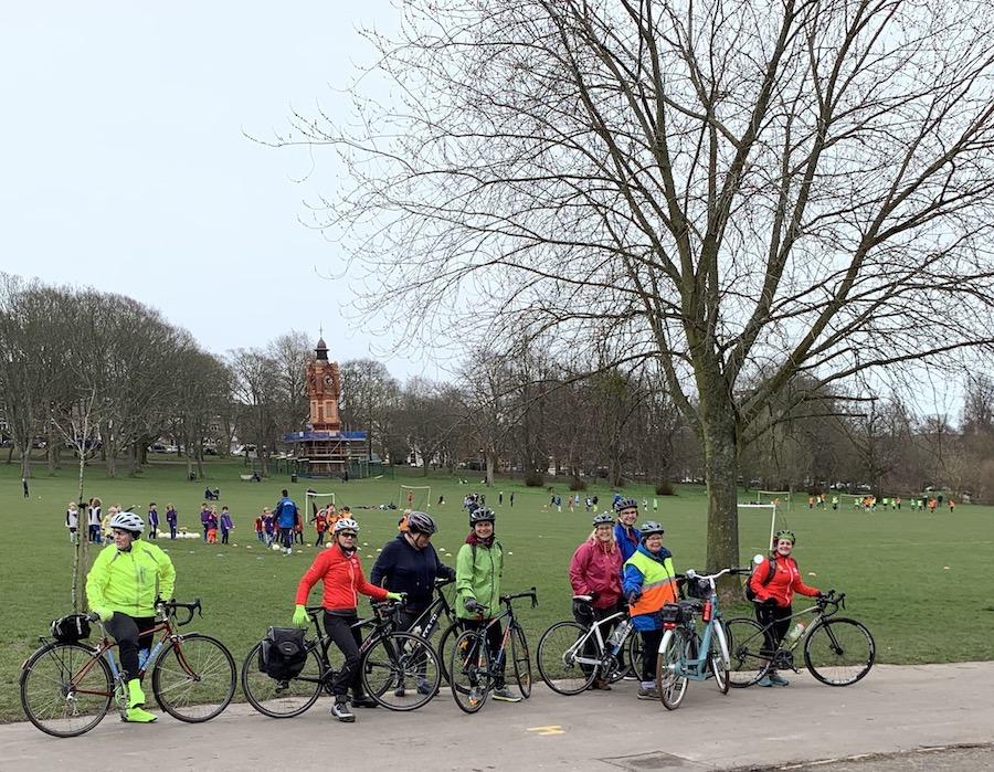 HSBC Breeze Womens cycle ride Preston Park Brighton