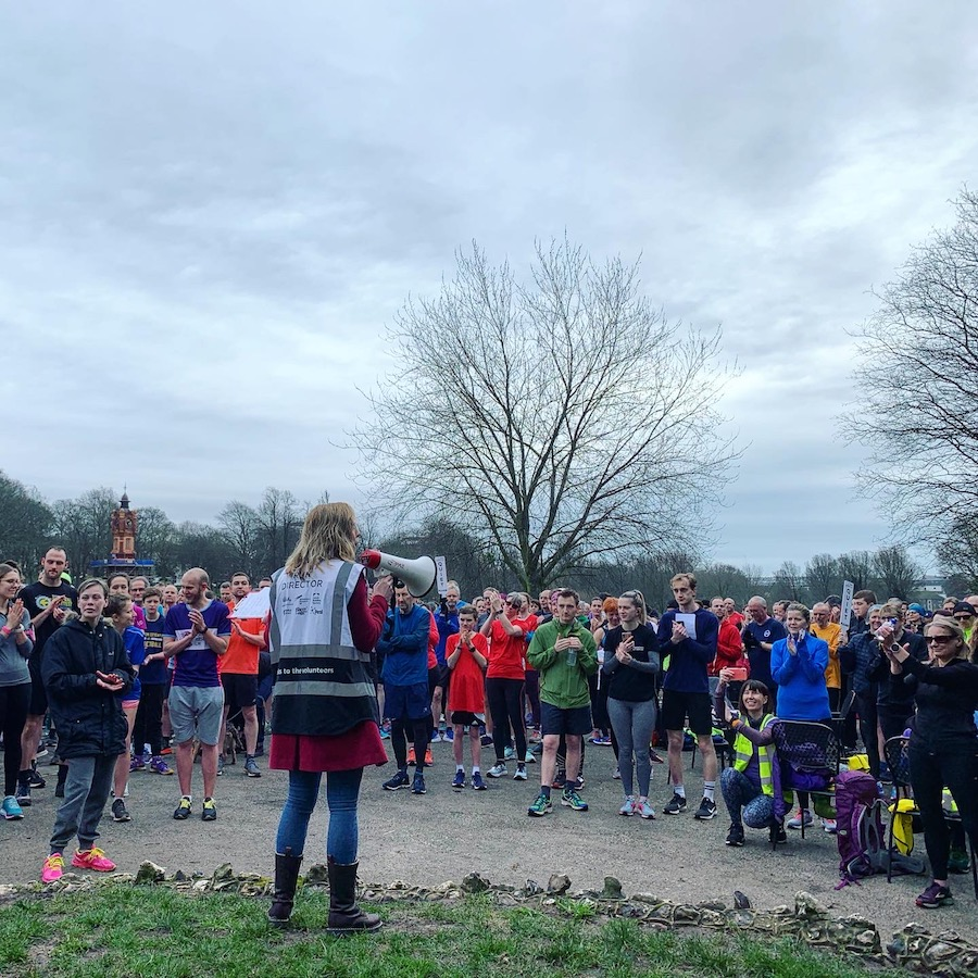 Preston Park parkrun Brighton