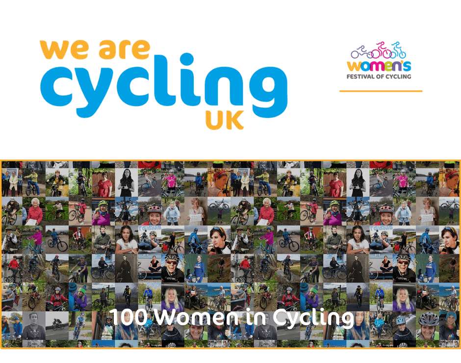 Cycling UK's 100 Women in Cycling 2020